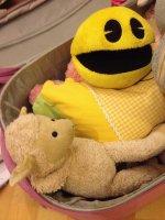 pluszowa zabawka dla małego dziecka